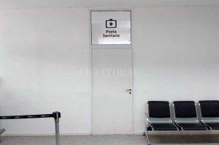 Pocos controles por coronavirus en el aeropuerto de Santa Fe