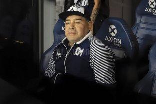El médico de Gimnasia LP aisló a Maradona durante la concentración