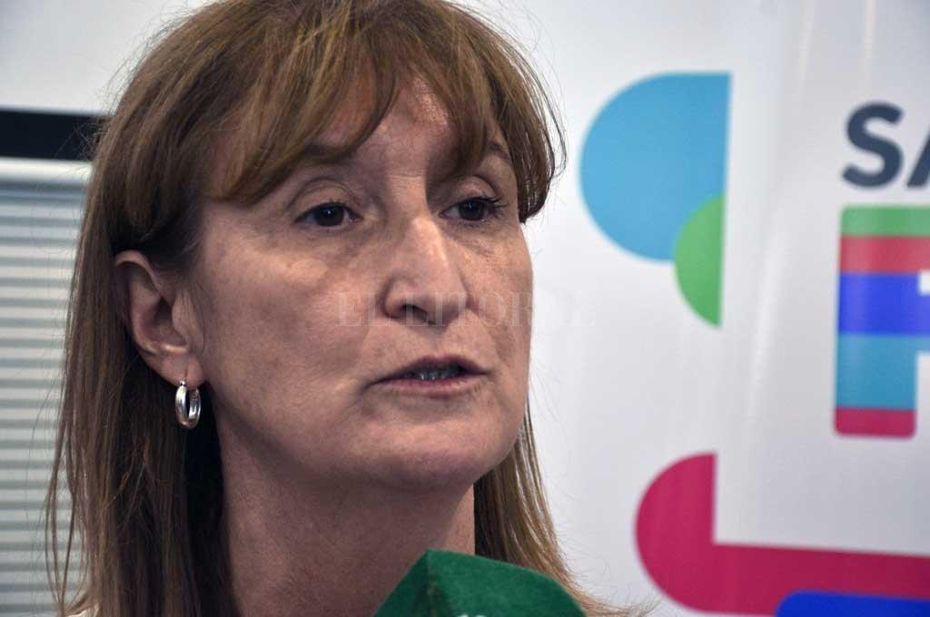 Andrea Uboldi es una de las ex ministras de Salud convocadas por la gestión provincial para integrar un gabinete de expertos en el marco de la pandemia por COVID-19. Crédito: Archivo El Litoral / Luis Cetraro