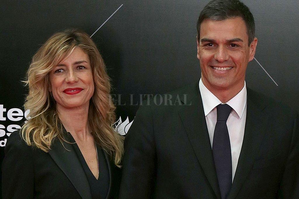 Begoña Gómez y Pedro Sánchez. Crédito: Captura digital