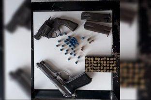 Secuestraron una gran cantidad de armas