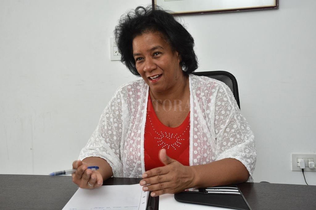 """""""Un 80 por ciento de lo que Cuba importa es de Santa Fe porque mayoritariamente es materia prima para la producción de alimentos para la producción de alimento animal"""". Crédito: Flavio Raina"""