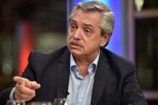 Alberto Fernández dijo que se investigará si hubo corrupción en la compra de alimentos -  -
