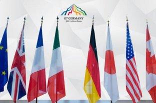 """Desde el G7 afirman que harán """"lo que sea necesario"""" para enfrentar las consecuencias económicas del coronavirus"""