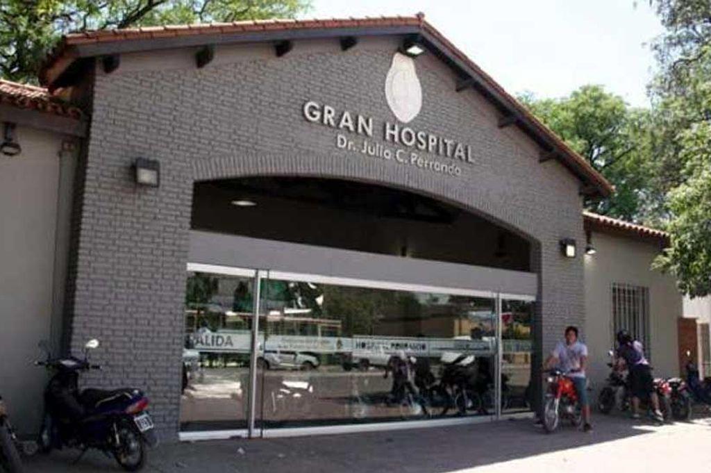 Hospital Perrando, Chaco Crédito: Archivo