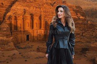 """Cuarentena: Rania de Jordania propone un paseo virtual por una """"maravilla del mundo"""""""