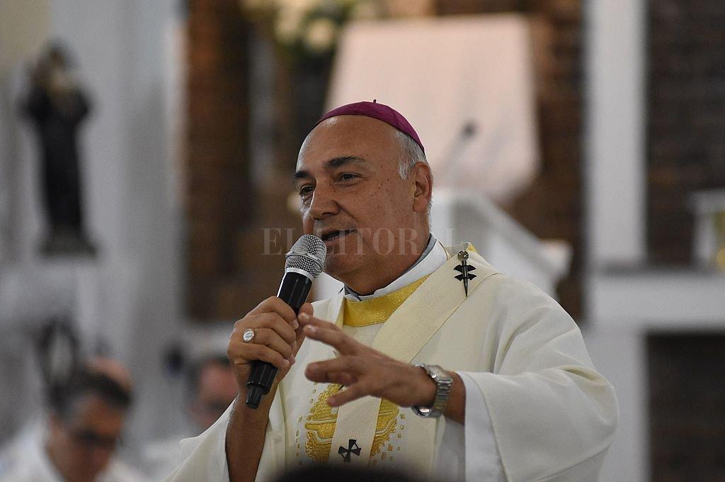Mons. Sergio Fenoy, Arzobispo de Santa Fe Crédito: Manuel Fabatía