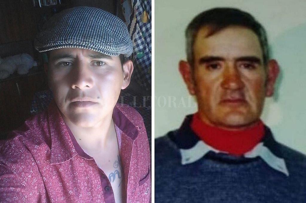 Diego Pachín (26) y Pascual Furer (73).  Crédito: Prensa URIX / Prensa DDHH