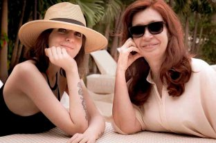 Cristina Kirchner ya está en Argentina con su hija Florencia