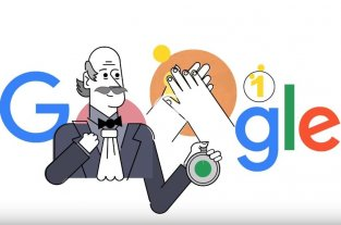 Google le dedicó un doodle a un médico que hace 130 años habló de la importancia de lavarse las manos