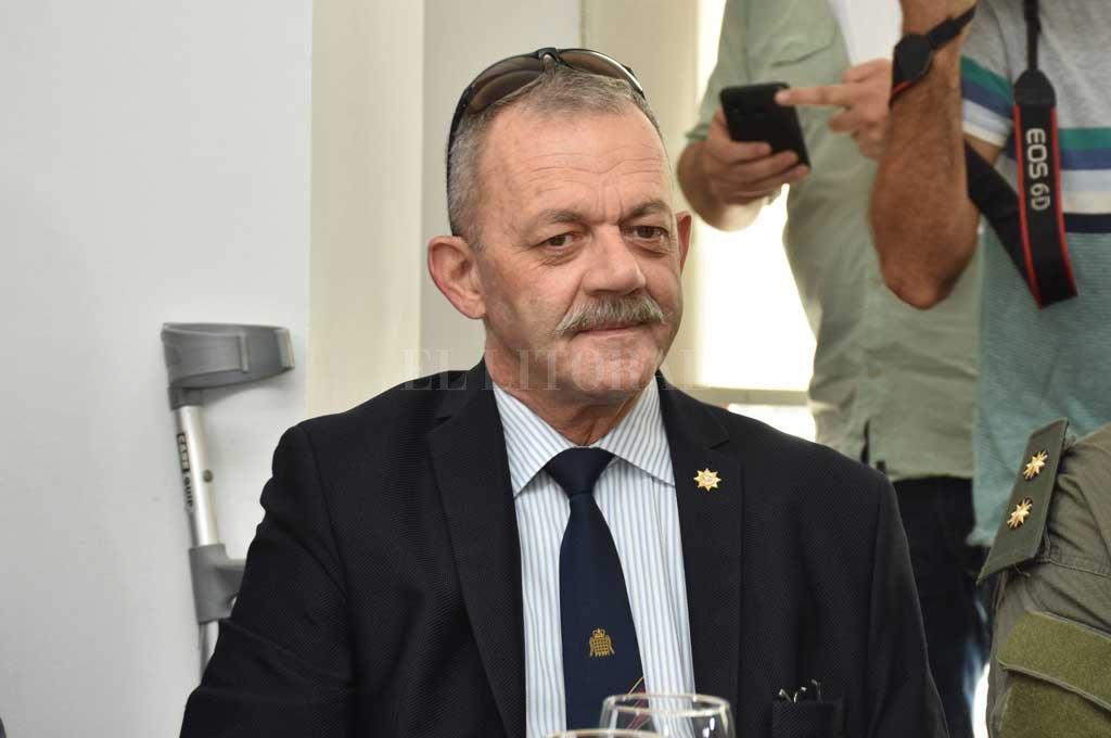 Víctor Sarnaglia, jefe de Policía de la Provincia Crédito: Archivo El Litoral