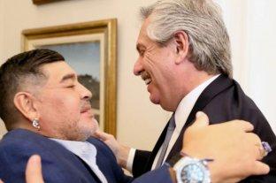 """Maradona apoyó las medidas de Alberto Fernández y pidió estar """"separados, pero más unidos que nunca"""""""