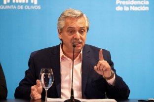 """El Presidente convocó a """"trabajar unidos para poner a la Argentina de pie"""""""