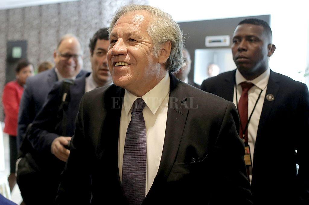Luis Almagro, secretario General de la OEA: Crédito: Archivo El Litoral
