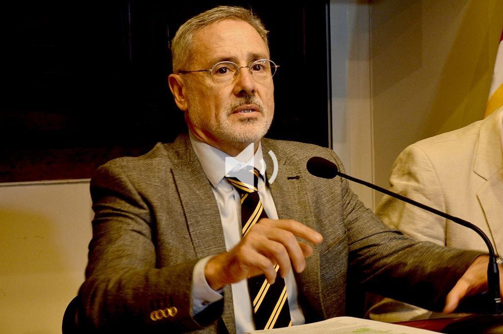 Marcelo Sain, ministro de Seguridad de la provincia. Crédito: Guillermo Di Salvatore