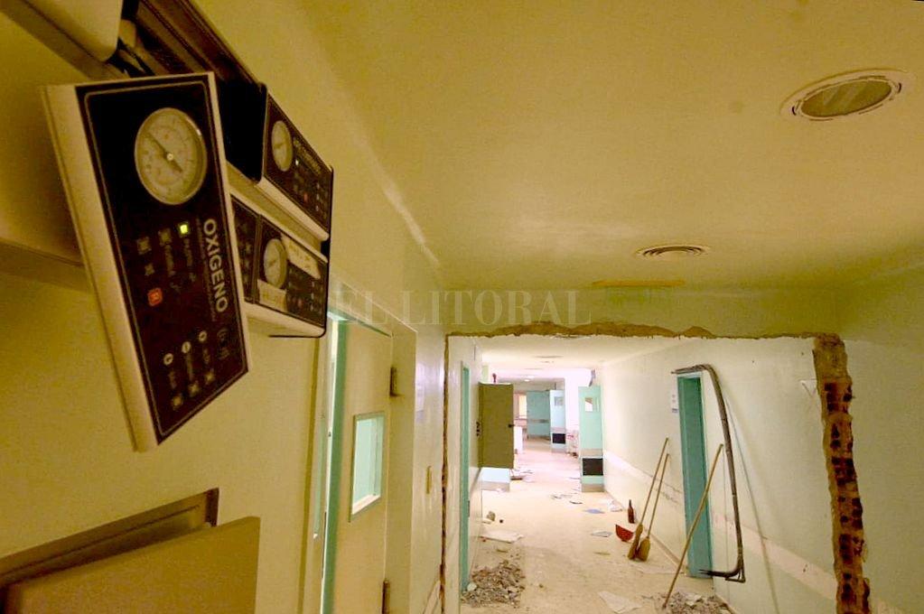 Así están las instalaciones del viejo Iturraspe hoy. Crédito: Mauricio Garín