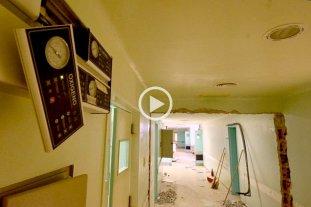 Preparan el viejo Iturraspe para instalar unas 80 camas y reforzar la emergencia
