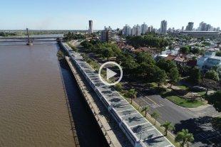 Video: El aislamiento obligatorio en Santa Fe y Santo Tomé desde el drone de El Litoral -  -