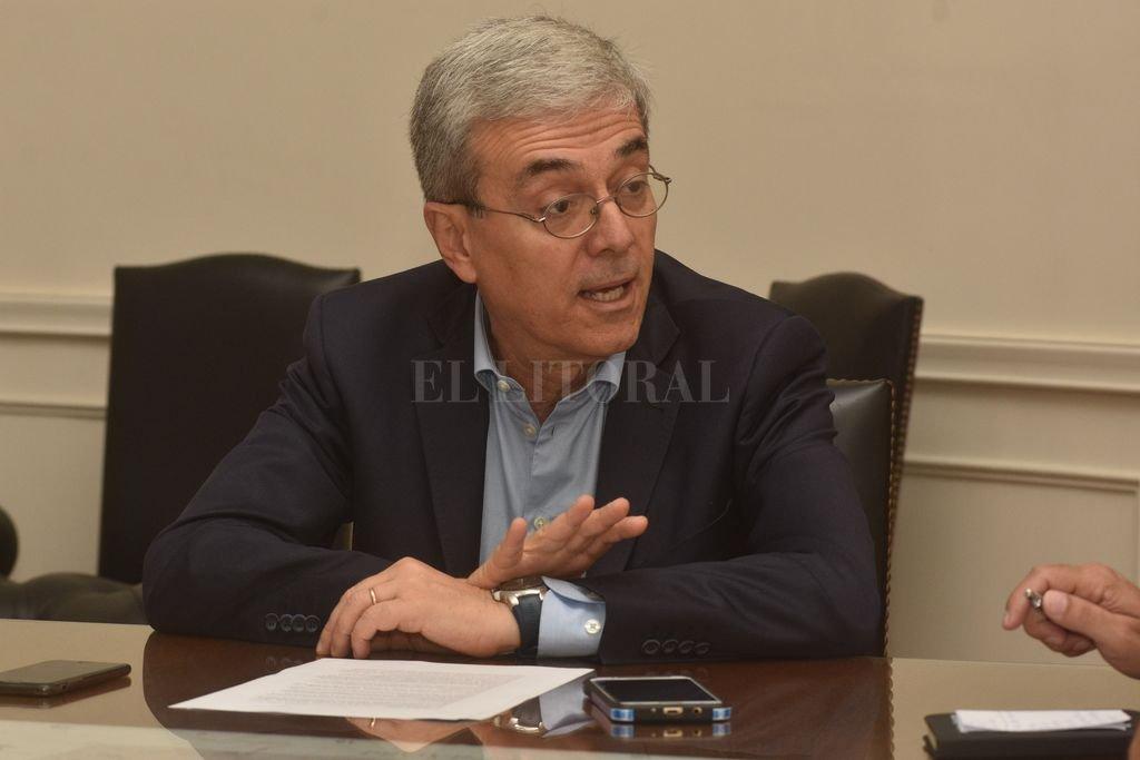Agosto pilotea las negociaciones con el gobierno nacional. Crédito: Guillermo Di Salvatore