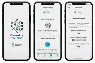 El Gobierno lanzó una app que permite la autoevaluación de síntomas de coronavirus