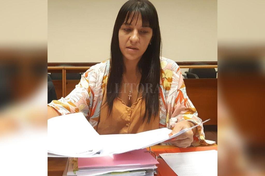 Fiscal Alejandra del Río Ayala Crédito: Archivo El Litoral