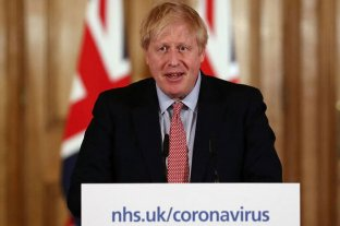 Boris Johnson salió de Terapia Intensiva