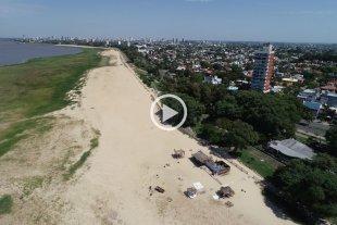 Video: El quinto día de aislamiento obligatorio en Santa Fe desde el drone de El Litoral -  -