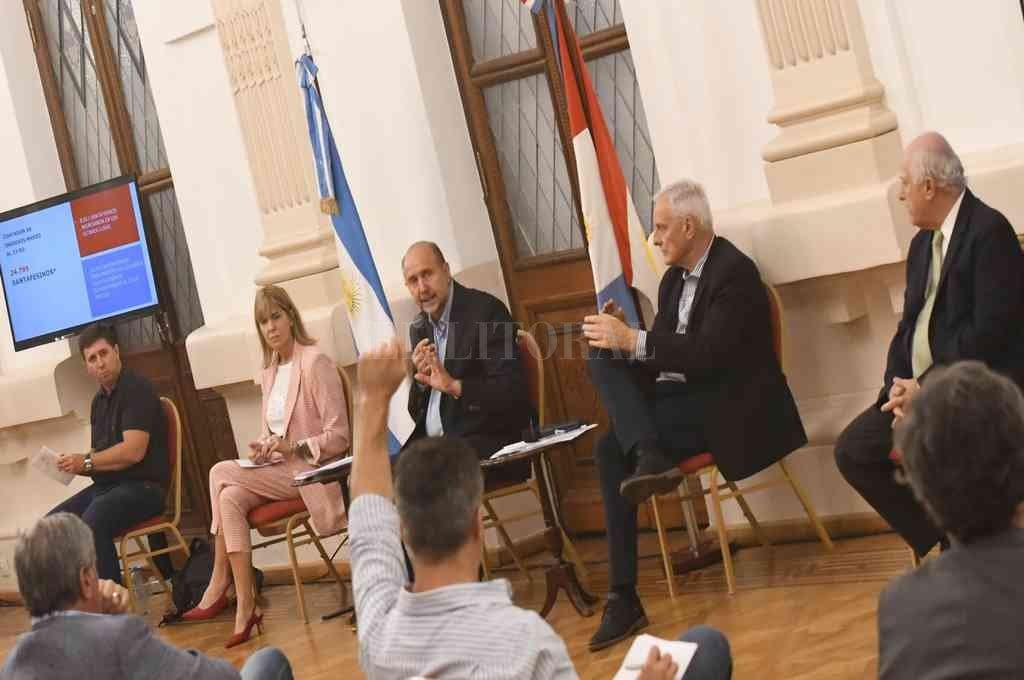 Crédito: Prensa Senador Rubén Pirola