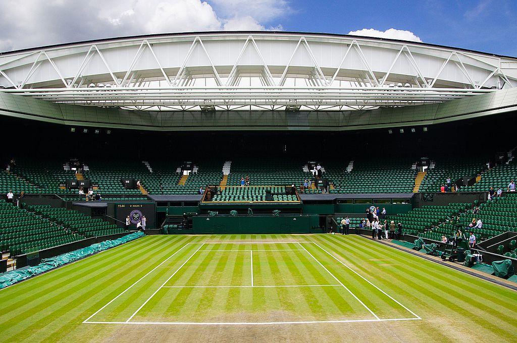 El tradicional césped del All England Lawn Tennis y Croquet Club. Crédito: Archivo