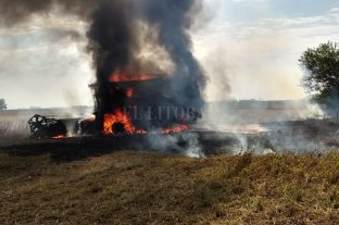 Época de incendios: cómo evitar que se queme la cosechadora