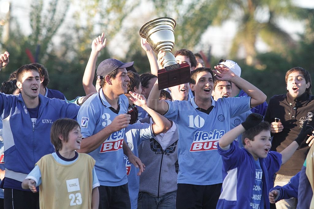 De Primera. UNL ascendió a la máxima categoría, lugar que lo tiene como uno de los protagonistas de las últimas temporadas. Crédito: Mauricio Garín / Archivo