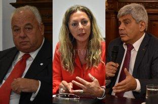 Avanzarán en la digitalización de audiencias en el sistema penal  - Rafael Gutiérrez, Jaquelina Balangione y Jorge Baclini.  -