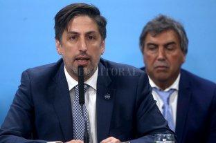 El Gobierno Nacional se reúne con los colegios privados para tratar el pago de las cuotas - Nicolás Trotta, ministro de Educación de la Nación. -