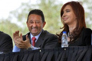 Designan a Jaque, Recalde y Manzanal en el directorio de YPF - El exgobernador de Mendoza, Celso Jaque, junto a la actual vicepresidenta de la Nación, Cristina Fernández. -