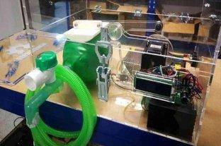 Técnicos de todo el país responden a la pandemia diseñando respiradores