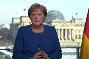 Merkel pidió mantener las medidas para reducir la vida pública ante la pandemia