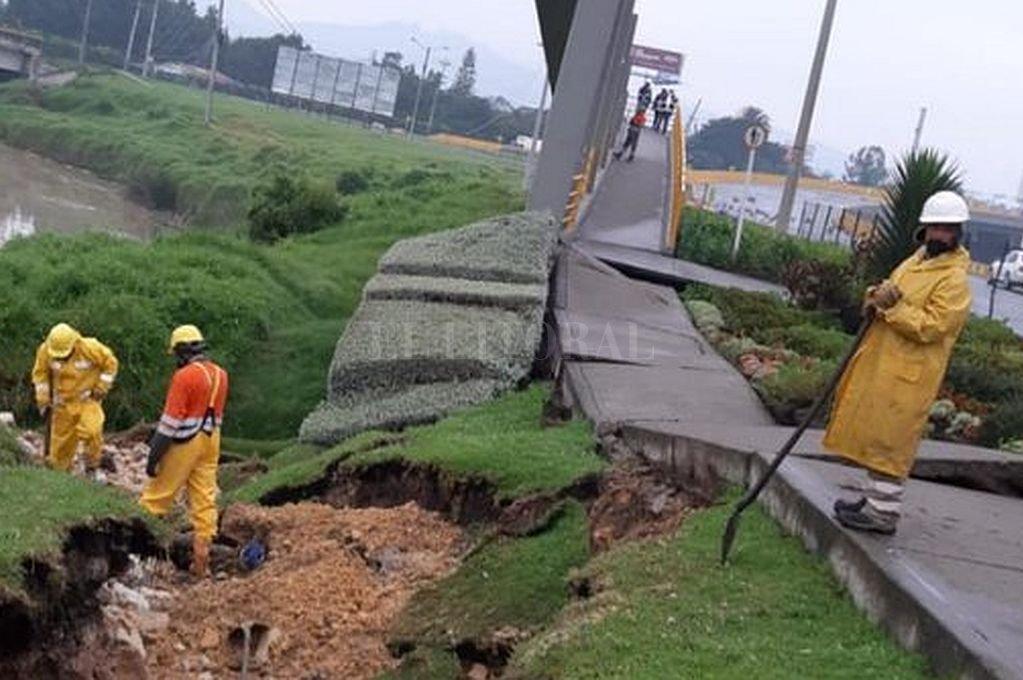 Sismo de magnitud 5,1 deja sin agua al municipio de Chía, Cundinamarca