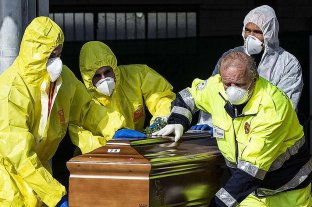 Italia superó los 10.000 muertos por coronavirus -  -