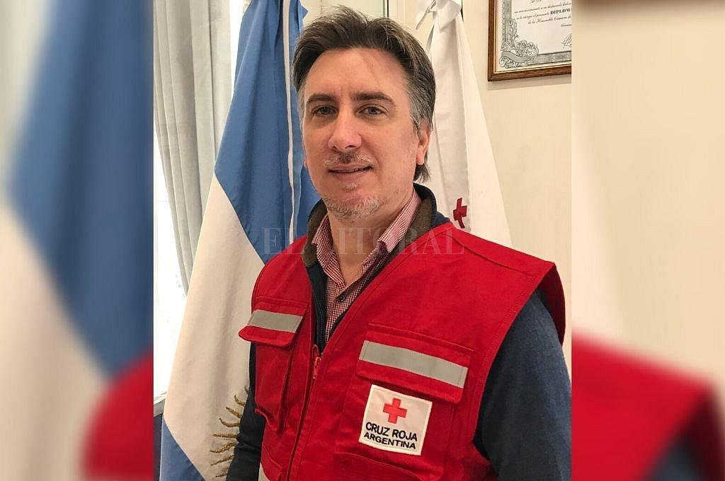 Diego Tipping, presidente de la Cruz Roja Argentina.  Crédito: Telam