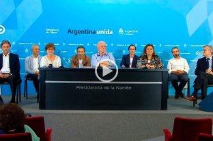 """Declaraciones  Ginés González García: """"Los especialistas opinaron unánimemente que hay que prorrogar la cuarentena"""" -"""