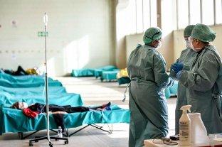"""Italia informó 756 nuevas víctimas y estima que en """"máximo diez días"""" bajaran las muertes"""