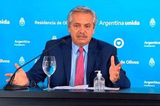 La cuarentena se extenderá hasta que concluya la Semana Santa  - Alberto Fernández se mostró satisfecho sobre la marcha del aislamiento obligatorio en la Argentina. -