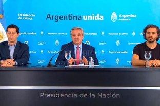 """Alberto Fernández: """"Voy a ser duro con quienes despiden gente"""""""