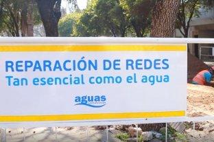 Interrumpen el servicio de agua potable por tareas de reparación