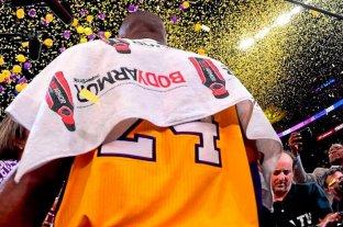 Subastaron una toalla de Kobe Bryant en 33 mil dólares