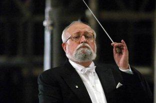 Murió el compositor y director de orquesta polaco Krzysztof Penderecki
