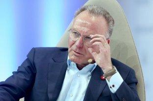 Rummenigge se mostró en contra de reducir los contratos en el Bayern Múnich