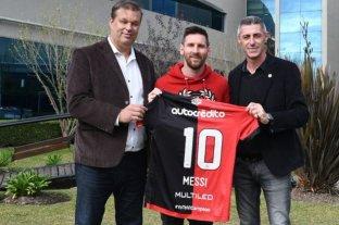 Se cumplen 26 años de la primera ficha de Messi en Newell