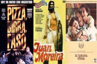 """Películas argentinas que hicieron historia y se pueden ver on line  - """"Pizza, birra, faso"""", """"Juan Moreira"""" y """"La historia oficial"""". Tres films claves de distintas épocas que marcaron a fuego al cine argentino. -"""