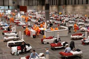 España registró 849 muertes por coronavirus en las últimas 24 horas